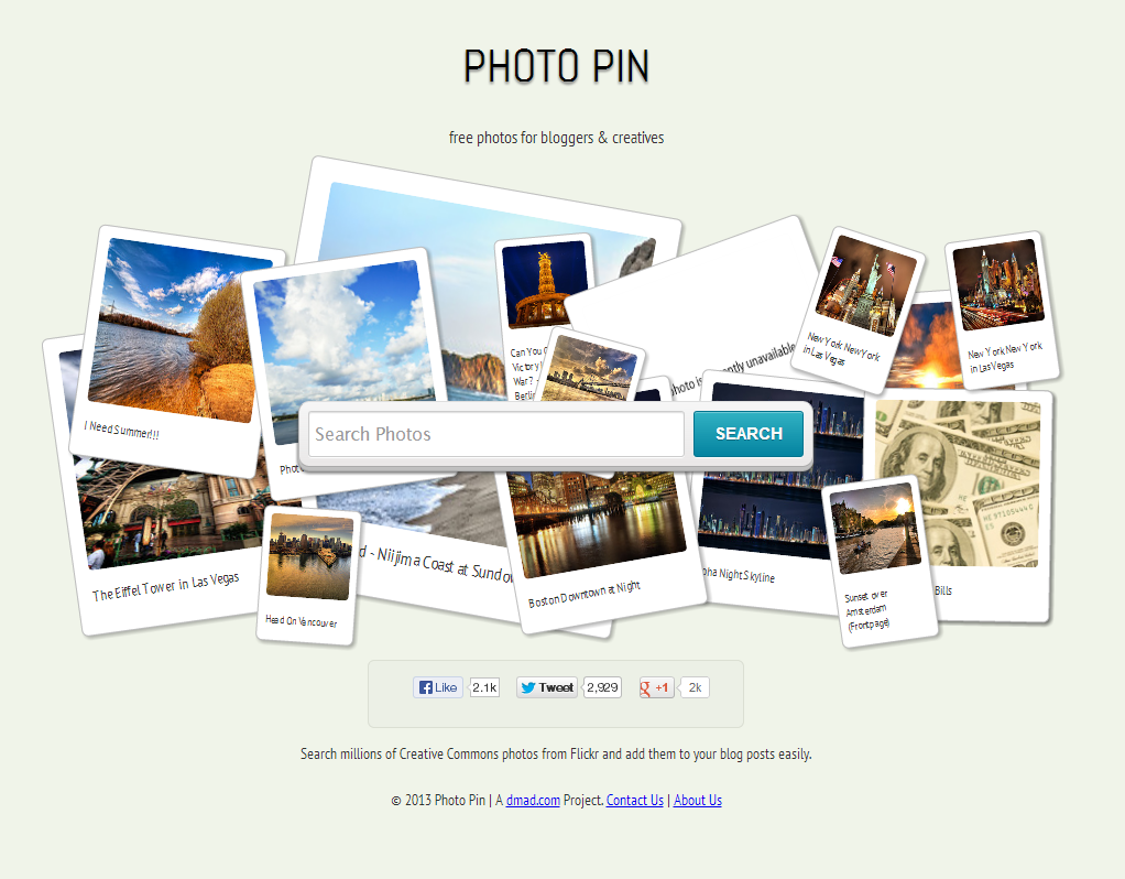 Photo Pin - Free Photos for Bloggers via Creative Commons