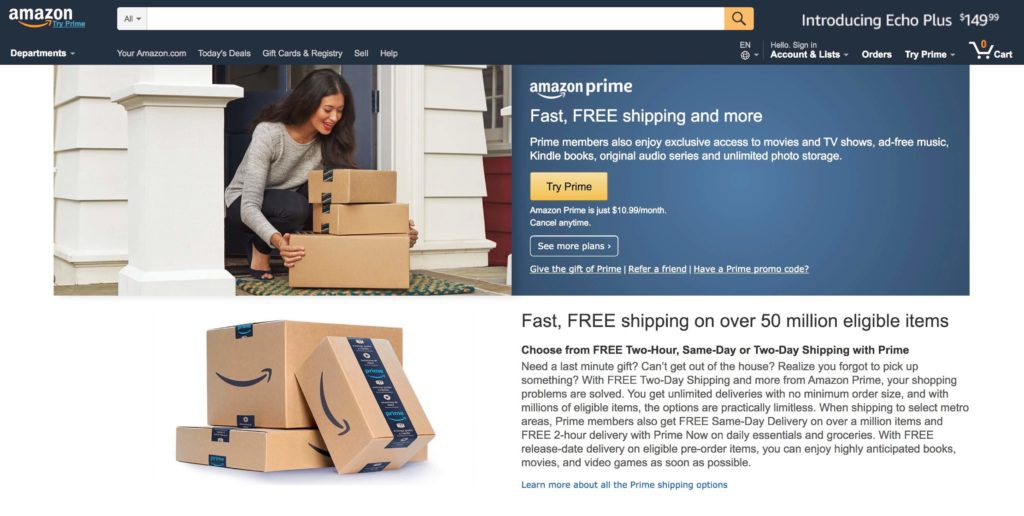 amazon example digital marketing funnel